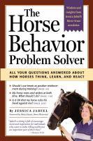 The Horse Behavior Problem Solver