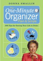 The One-minute Organizer Plain & Simple