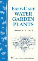 Easy-care Water Garden Plants
