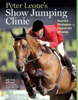 Peter Leone's Show Jumping Clinic