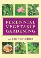 Perennial vegetable gardening