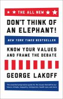 The All-new Don't Think of An Elephant!