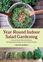 Year-round Indoor Salad Gardening