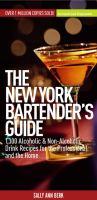 The New York Bartender's Guide