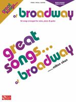 Great Songs of Broadway