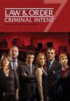 Law & Order Criminal Intent, the Seventh Year '08-'09 Season