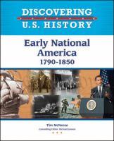 Early National America, 1790-1850