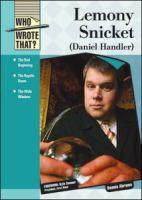 Lemony Snicket (Daniel Handler)