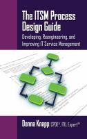 The ITSM Process Design Guide
