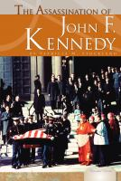 The Assassination of John F. Kennedy