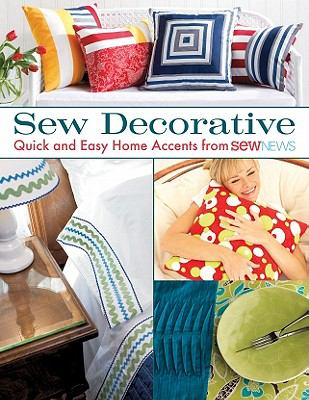 Sew Decorative book cover