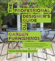 The Designer's Guide to Garden Furnishings