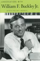 Conversations With William F. Buckley Jr