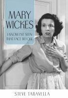 Mary Wickes : I know I've seen that face before