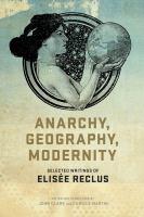 Anarchy, Geography, Modernity