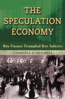 The Speculation Economy