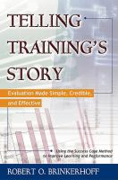 Telling Training's Story