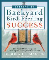 Secrets of Backyard Bird-feeding Success