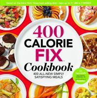 400 Calorie Fix Cookbook