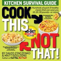 Cook This Not That!