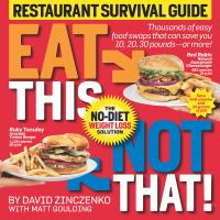 Eat This, Not That! Restaurant Survival Guide