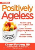 Prevention Positively Ageless