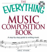 The Everything Music Composition Book