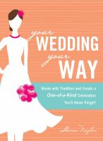 Your Wedding your Way