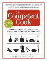 The Competent Cook