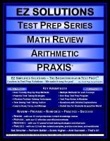 EZ Solutions Test Prep Series