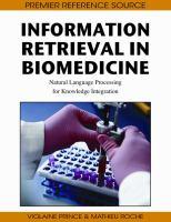 Information Retrieval in Biomedicine