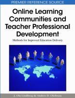 Online Learning Communities and Teacher Professional Development