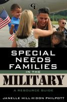 Special Needs Families in the Military