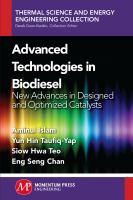 Advanced Technologies in Biodiesel