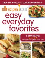 Allrecipes.com Easy Everyday Favorites