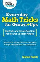 Everyday Math Tricks for Grown-ups