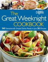 The Great Weeknight Cookbook
