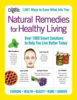 Natural Remedies for Healthy Living