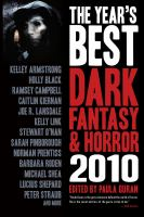 The Year's Best Dark Fantasy and Horror