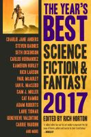 The Year's Best Science Fiction & Fantasy 2017