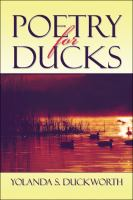 Poetry for ducks : a collection of poetry