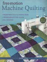 Free-motion Machine Quilting