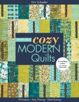 Bright & Bold Cozy Modern Quilts