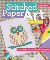 Stitched Paper Art