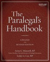 The Paralegal's Handbook