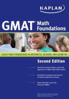 GMAT Math Foundations