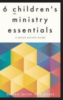 6 Children's Ministry Essentials