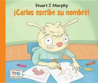 ¡Carlos escribe su nombre!
