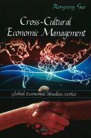Cross-cultural Economic Management