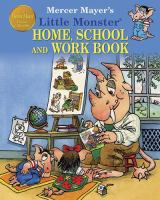 Little Monster Home, School and Work Book